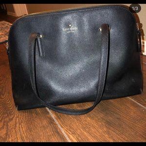 Black Kate Spade purse.